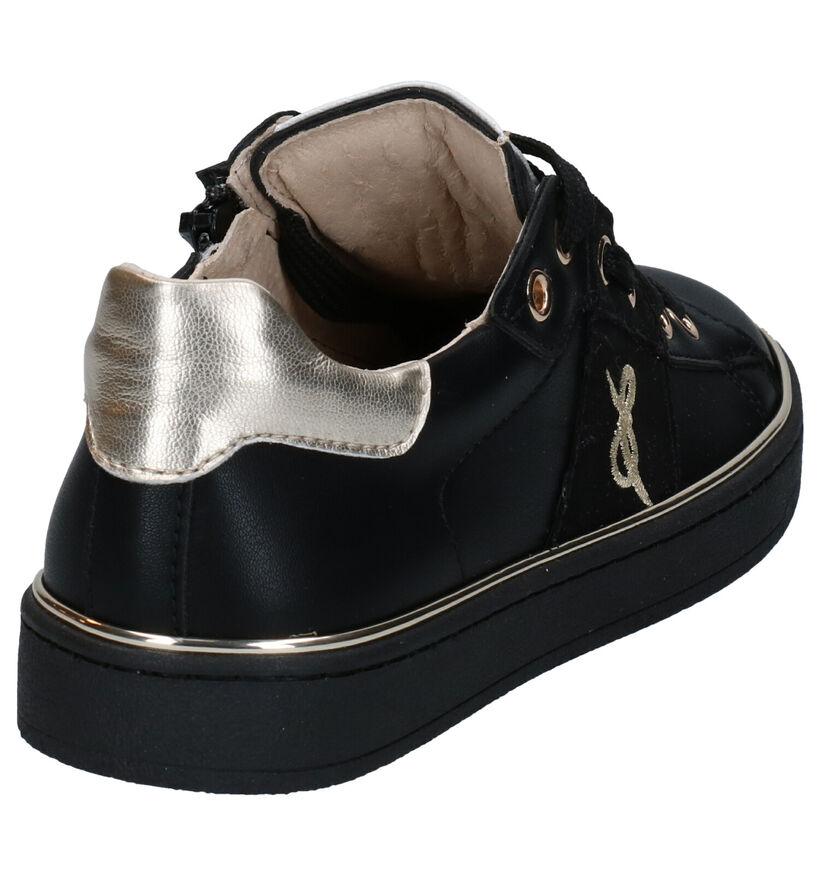 Milo & Mila Chaussures basses en Noir en simili cuir (281706)