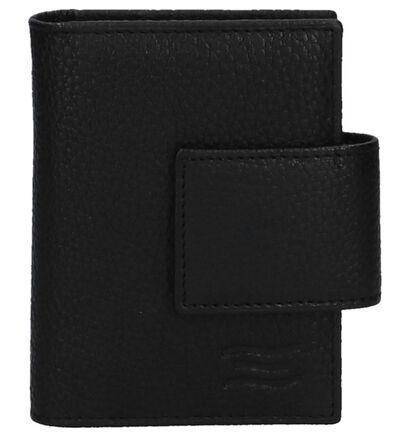Crinkles Porte-cartes en Noir en cuir (250582)