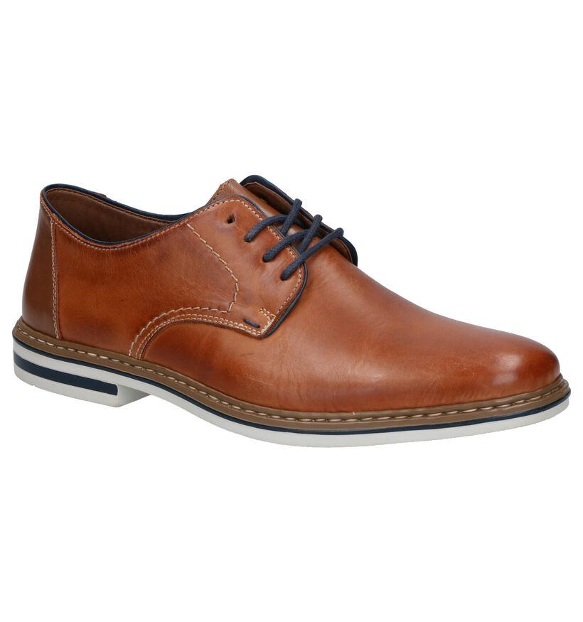 Rieker Chaussures habillées en Marron en cuir (273571)