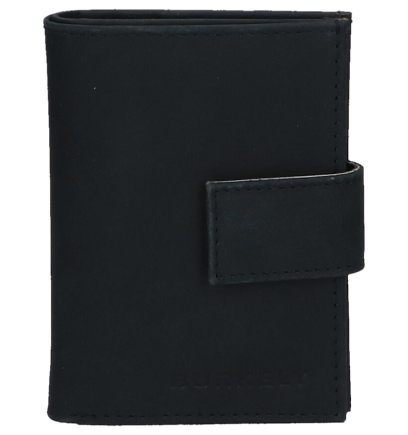 Donkerblauwe Kaartenhouder Burkely CC Mini Wallet in leer (252970)