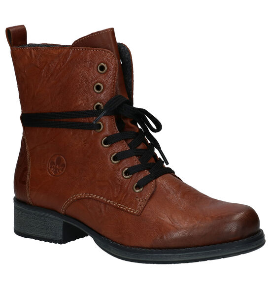 Rieker Bottines en Cognac