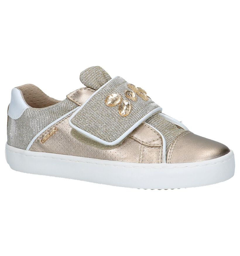 Gouden Lage Sneakers Geox in kunstleer (210488)