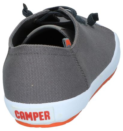 Camper Chaussures slip-on en Gris en textile (244546)