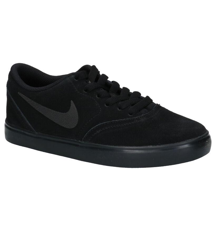 Nike SB Check Zwarte Sneakers in daim (254083)