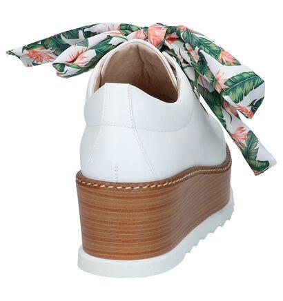 Élysèss Chaussures à lacets en Blanc en cuir (220257)