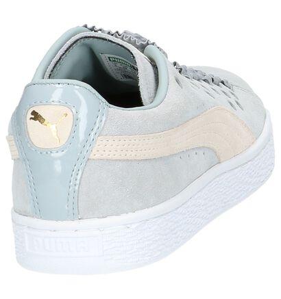 Lichtgrijze Puma Suede XL Lace Sneaker, Grijs, pdp
