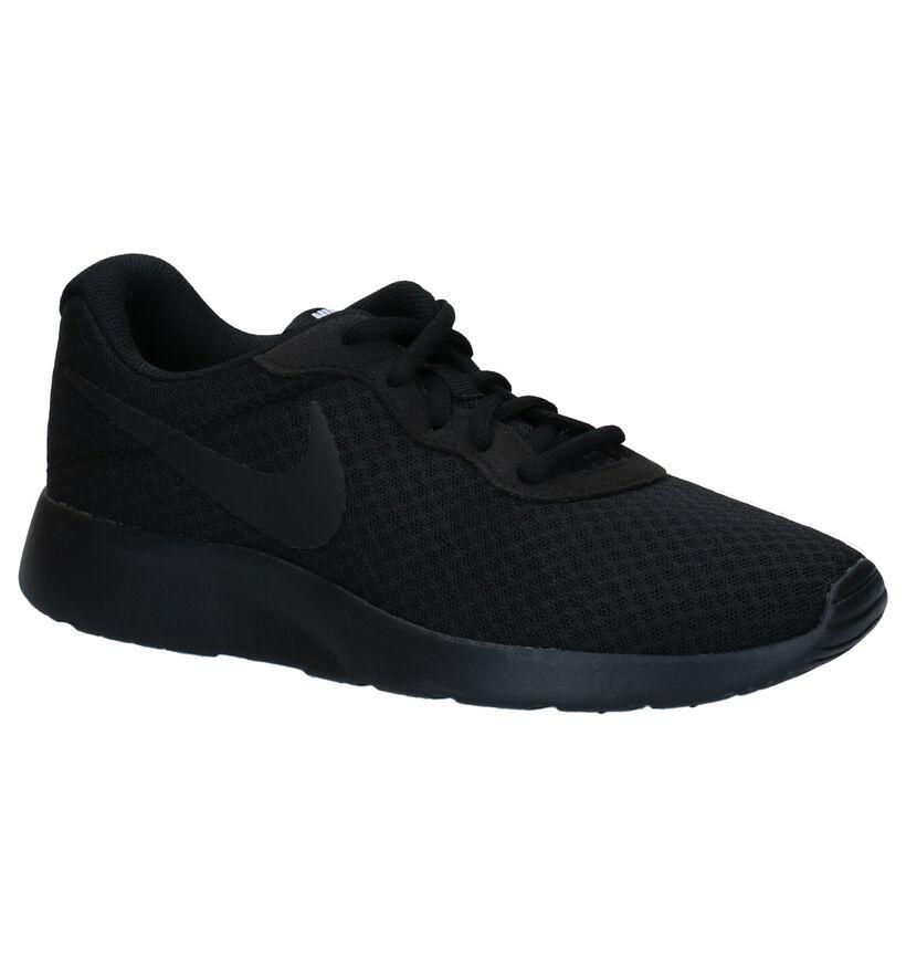 Nike Tanjun Baskets en Noir en textile (261872)