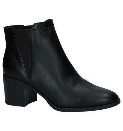 Geox Bottillons en Noir en cuir (223752)