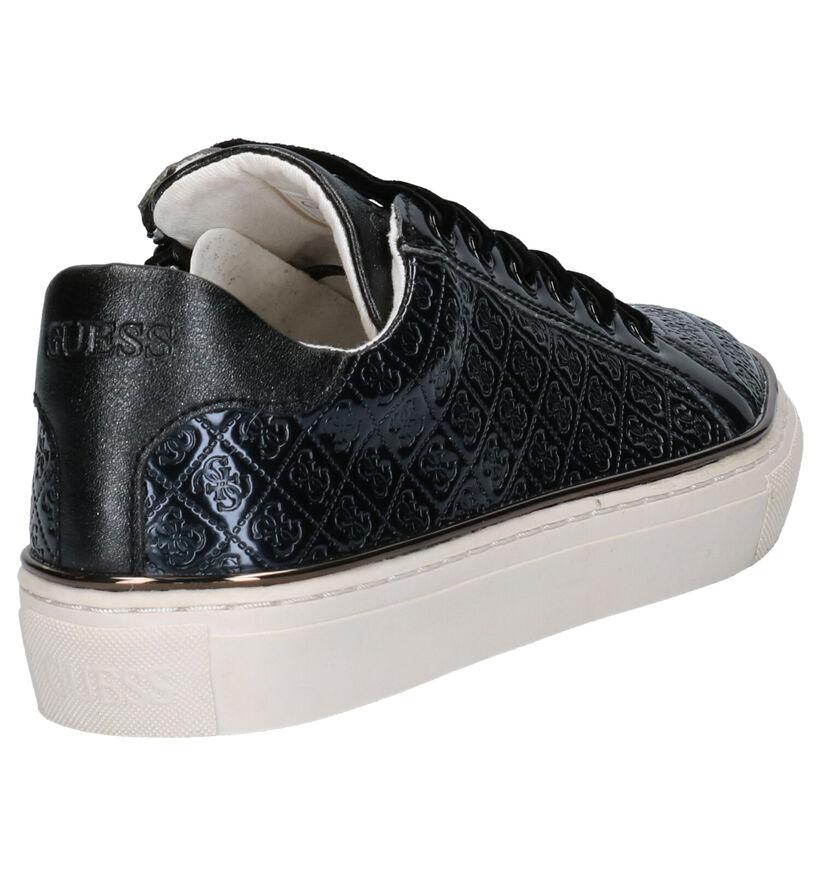 Guess Missy Chaussures basses en Noir en simili cuir (271083)
