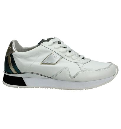 Witte Crime Lage Sneakers, Wit, pdp