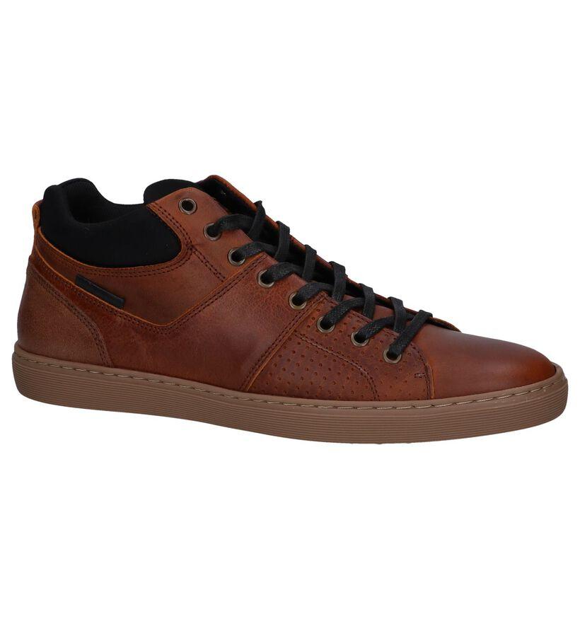 Bullboxer Chaussures hautes en Cognac en cuir (276952)