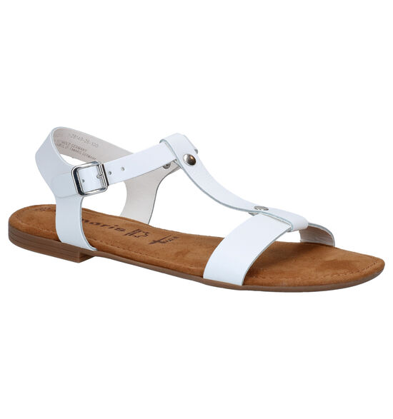 Tamaris TOUCH it Witte Sandalen