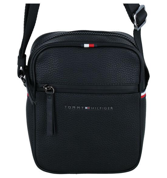 Tommy Hilfiger Essential Sac porté croisé en Noir