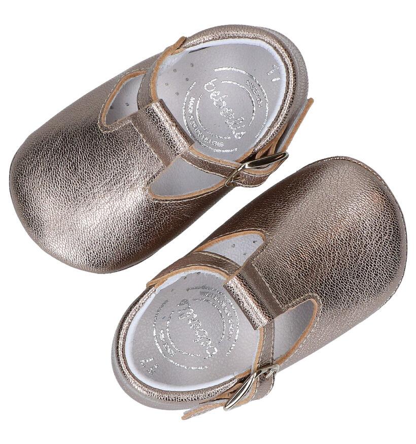 Beberlis Chaussons pour bébé en Or en cuir (281139)