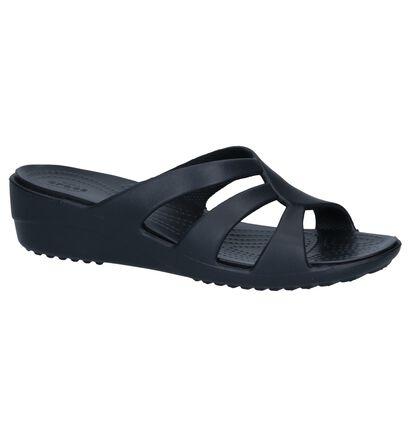Crocs Nu-pieds à talons  (Noir), Noir, pdp