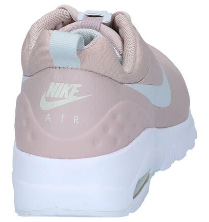 Nike Air Max Baskets basses en Rose clair en textile (209819)