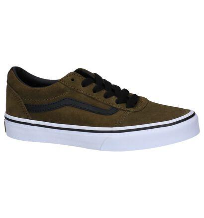 Vans Ward Zwarte Skate Sneakers in nubuck (266605)