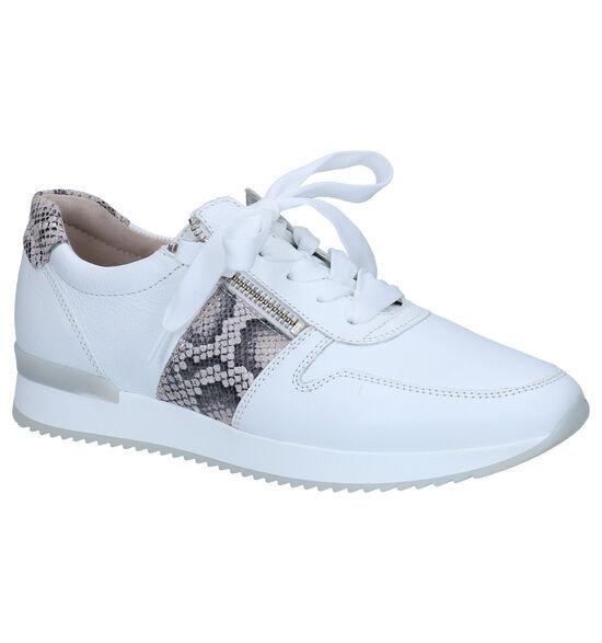 Gabor Best Fitting Chaussures à Lacets en Blanc