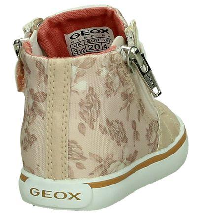 Geox Chaussures hautes en Rose en textile (190718)