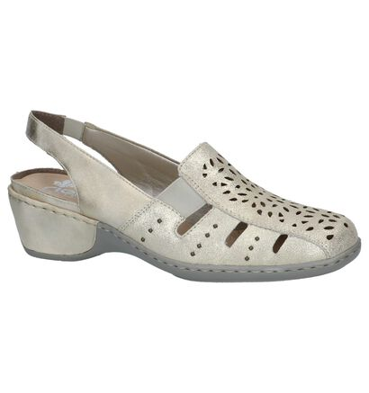 Rieker Chaussures sans lacets  (Or), Or, pdp