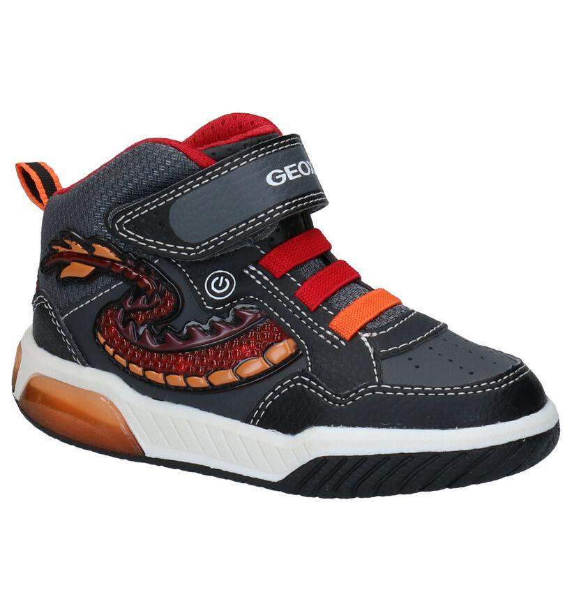 Geox Zwarte Hoge Schoenen in kunstleer (278321)