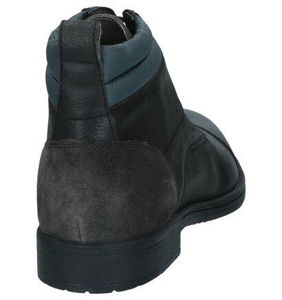 Zwarte Geklede Veterboots Geox in leer (223072)