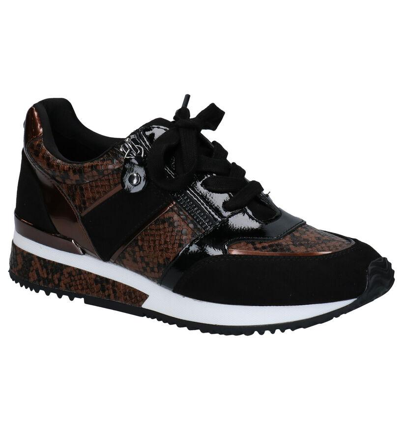 La Strada Zwarte Sneakers in kunstleer (278699)