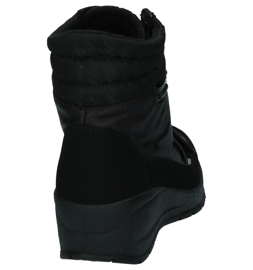Skandia Bottes de neige en Noir en synthétique (200824)