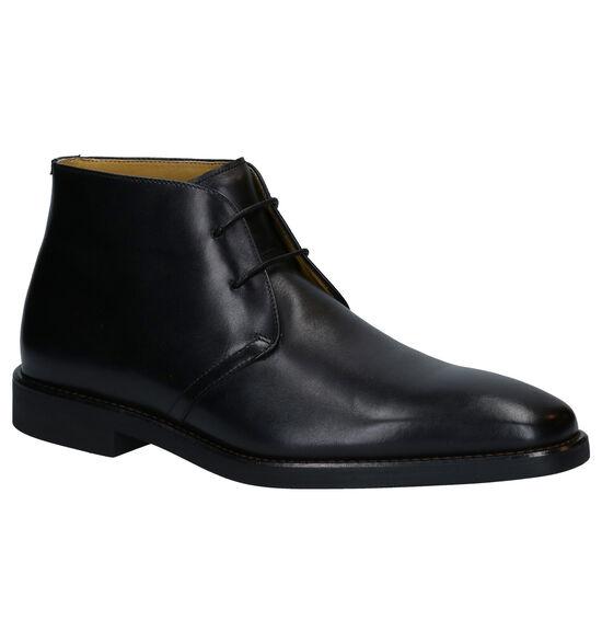 Steptronic Mitcham Zwarte Hoge Schoenen