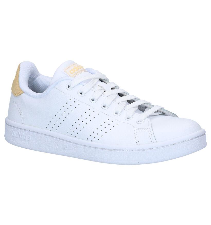 adidas Advantage Witte Sneakers in kunstleer (276433)