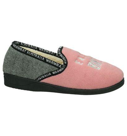 Roze Pantoffels Warmbat, Roze, pdp