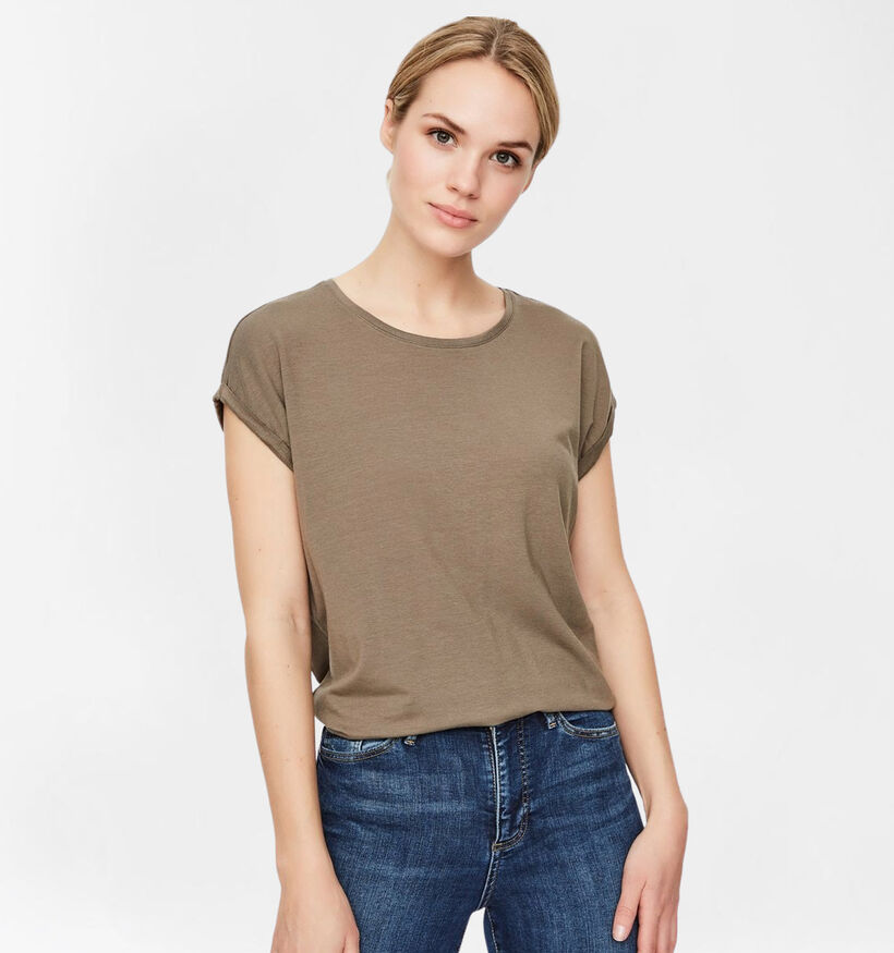 Vero Moda Mava Bruine T-shirt (285894)