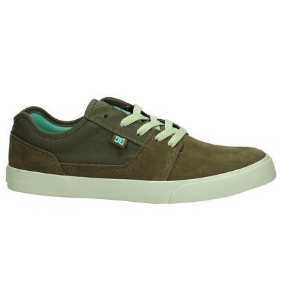 DC Shoes Tonik Chaussures de Skate en Noir en daim (263840)