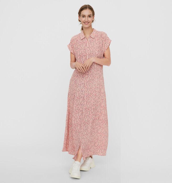 Vero Moda Hollo Robe en Rose