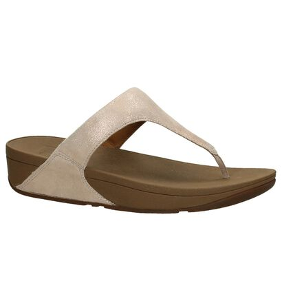 FitFlop Shimmy Suede Teenslippers, Roze, pdp