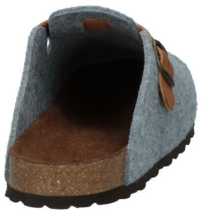 Zwarte Pantoffels Yokono Home 016, Grijs, pdp