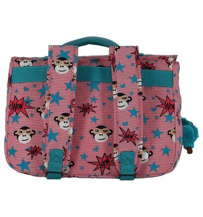 Kipling New School Sacs à dos en Rose en textile (225560)