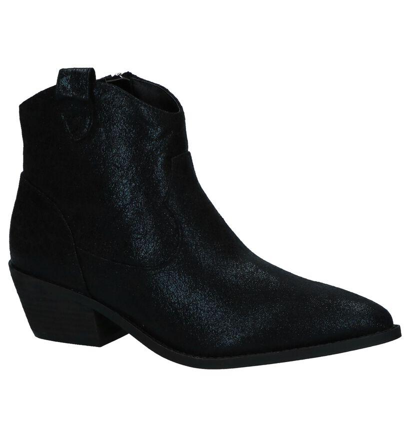 La Strada Zwarte Western Boots in kunstleer (252936)