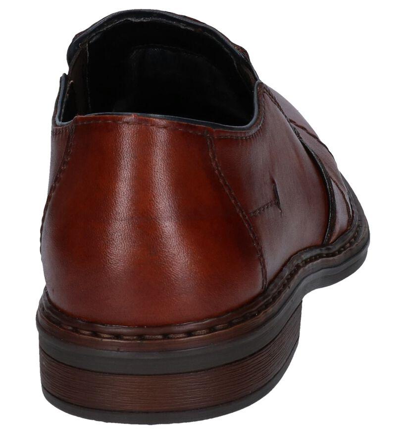 Rieker Chaussures slip-on en Cognac en cuir (277691)