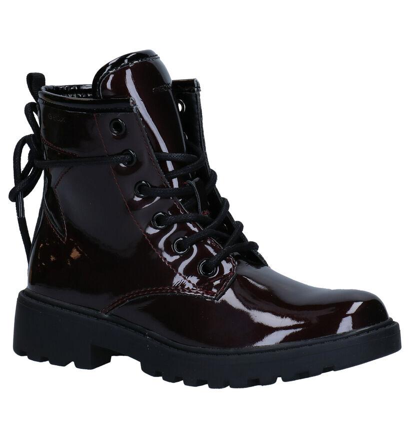 Geox Casey Blauwe Boots in kunstleer (278268)