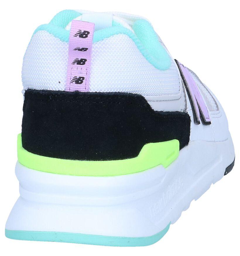 Witte Sneakers New Balance CM997 in kunstleer (264171)
