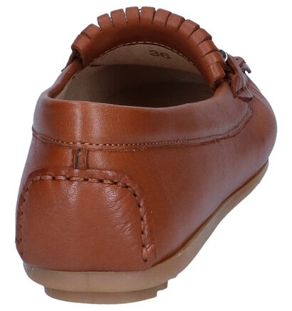 Cognac Mocassins Scapa in leer (246087)