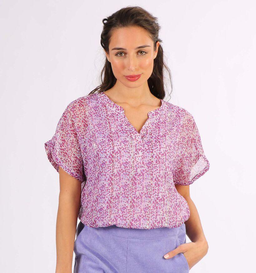 Vero Moda Lulu T-shirt en Mauve (296718)