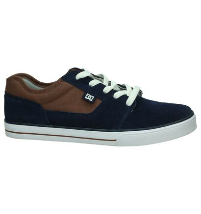 DC Shoes Tonik Lage Skateschoen Grijs, Blauw, pdp