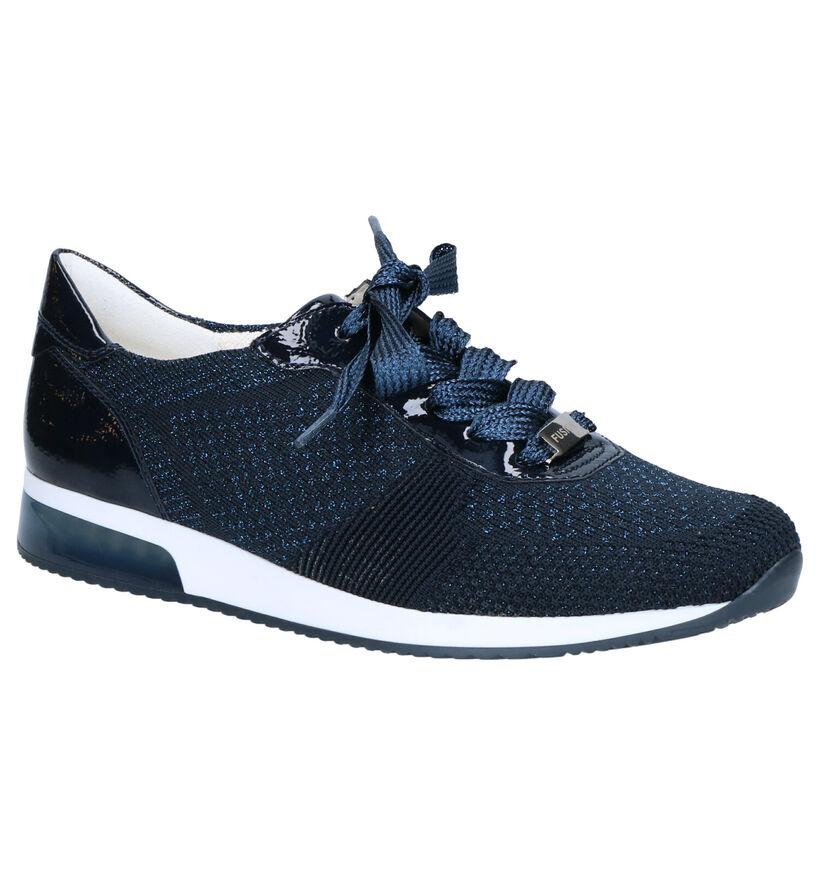 Ara Lissabon 2.0 Chaussures à lacets en Bleu en simili cuir (272298)