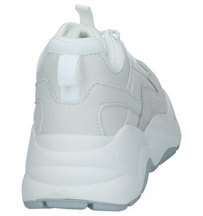 Witte Nineties Sneakers Vero Moda Elia in daim (241092)
