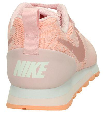 Nike MD Runner Sneaker Lichtblauw in stof (198252)