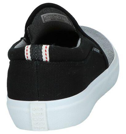 Jack & Jones Chaussures slip-on en Gris en textile (245272)
