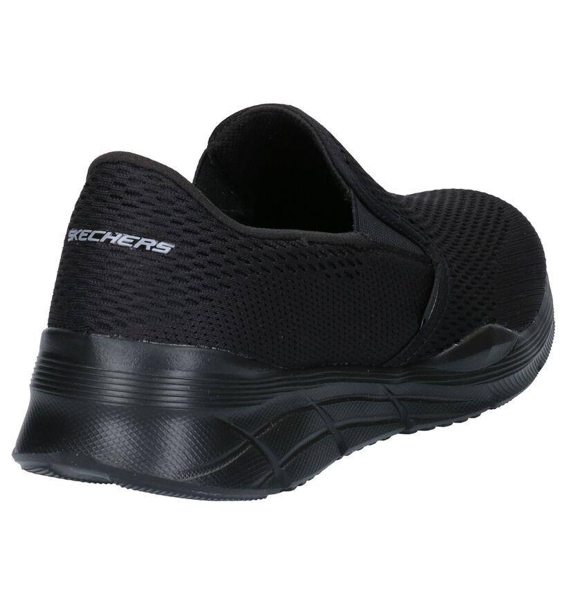 Memory Foam Baskets basses en Noir en textile (272831)