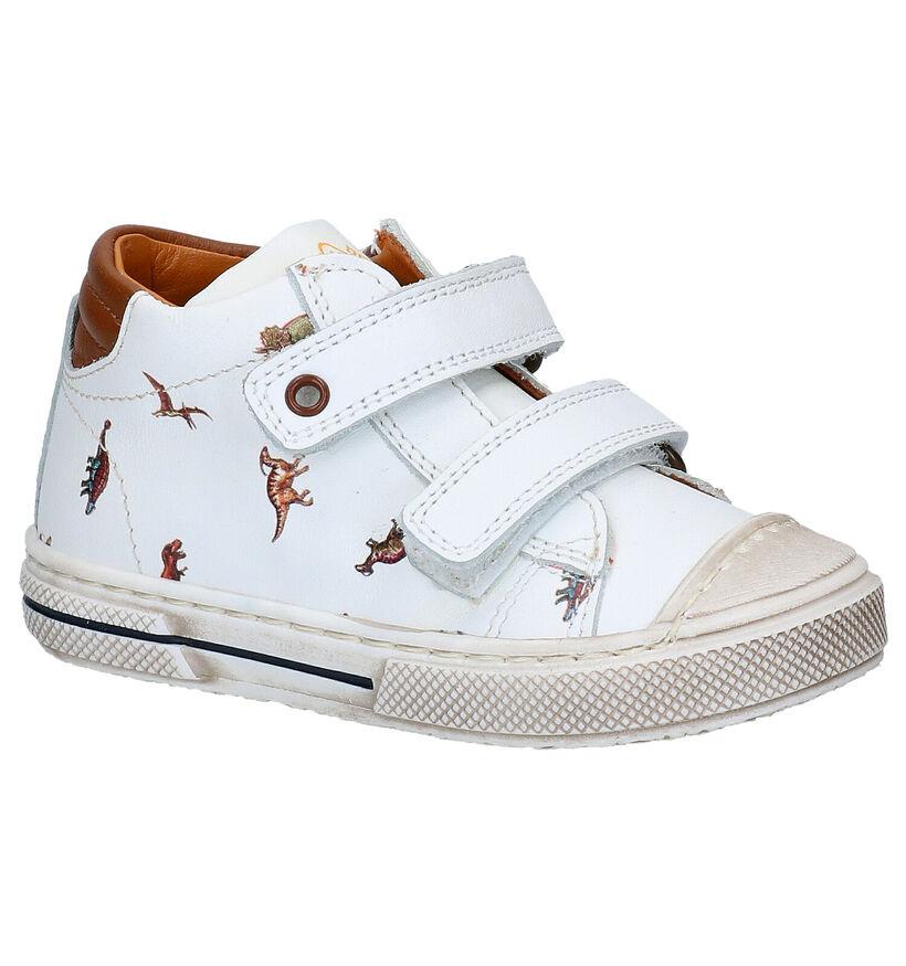 STONES and BONES Deno Chaussures enfants en Blanc en cuir (287835)